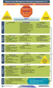 Seizure Acute Management: Emergency Department v.2.1