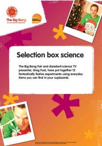Selection box science