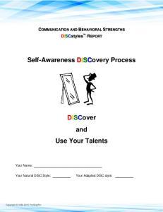 Self-Awareness DISCovery Process