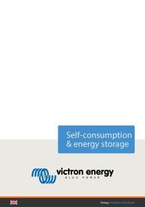 Self-consumption & energy storage. Energy. Anytime. Anywhere