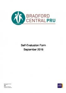 Self-evaluation February Ofsted. Judgement