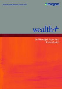 Self Managed Super Fund Administration