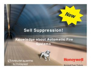 Sell Suppression! Knowledge about Automatic Fire Systems