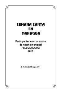 SEMANA SANTA EN MANAGUA
