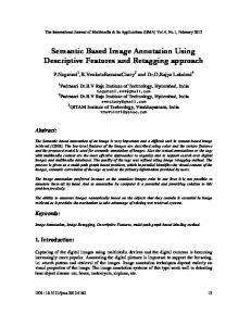 Semantic Based Image Annotation Using Descriptive Features and Retagging approach