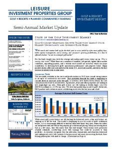 Semi-Annual Market Update
