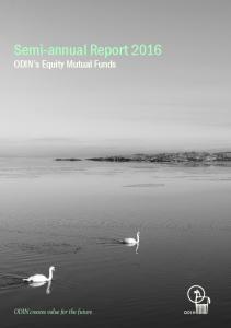 Semi-annual report 2016