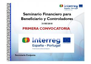 Seminario Financiero para Beneficiario y Controladores