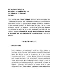 SEN. ROBERTO GIL ZUARTH PRESIDENTE DE LA MESA DIRECTIVA DEL SENADO DE LA REPUBLICA PRESENTE