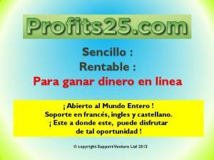 Sencillo : Rentable : Para ganar dinero en linea