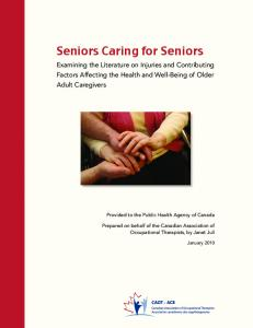Seniors Caring for Seniors