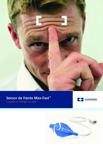 Sensor de frente Max-Fast Cuando el tiempo es vital