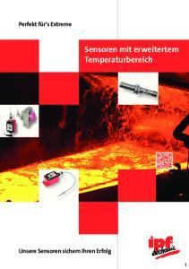 Sensoren mit erweitertem Temperaturbereich