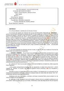 SENTENCIA Constanza robo I. ANTECEDENTES 1.- HECHOS.- PRIMERO. robo robo 2.- robo 3.-