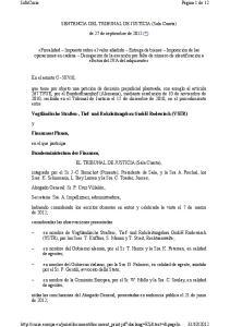 SENTENCIA DEL TRIBUNAL DE JUSTICIA (Sala Cuarta) de 27 de septiembre de 2012 (*)