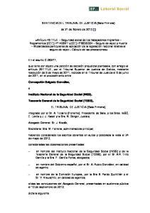 SENTENCIA DEL TRIBUNAL DE JUSTICIA (Sala Primera) de 21 de febrero de 2013 (*)