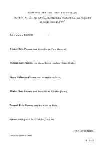 SENTENCIA DEL TRIBUNAL DE PRIMERA INSTANCIA (Sala Segunda) de 22 de junio de 2004 *