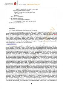 SENTENCIA estafa I. ANTECEDENTES 1.-