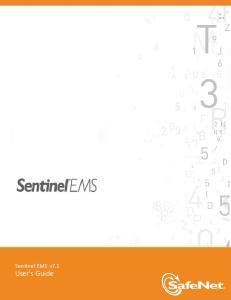 Sentinel EMS v7.1 User's Guide