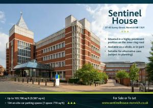 Sentinel House. For Sale or To Let