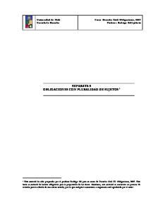 SEPARATA 8 OBLIGACIONES CON PLURALIDAD DE SUJETOS 1