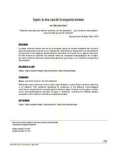 Sepsis: la otra cara de la respuesta inmune