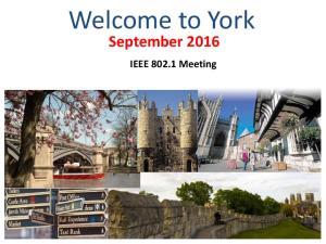September 2016 IEEE Meeting