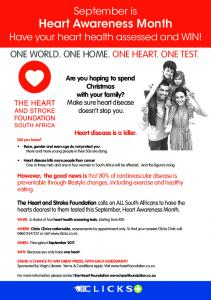 September is Heart Awareness Month