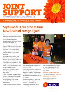 September is our time to turn New Zealand orange again!