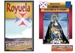 Septenario de los. DOLORES de la VIRGEN. Royuela (Teruel)
