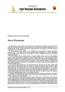 Serce Warszawy. Henryka Pawłowska vel. Jaroszyńska