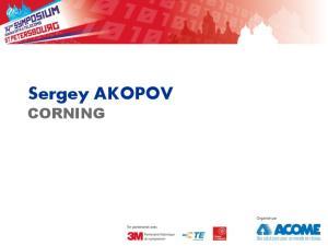 Sergey AKOPOV CORNING