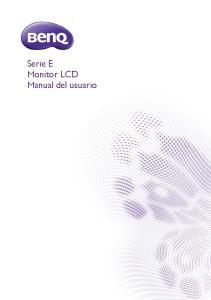 Serie E Monitor LCD Manual del usuario