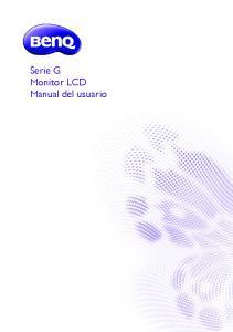 Serie G Monitor LCD Manual del usuario