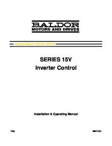 SERIES 15V Inverter Control