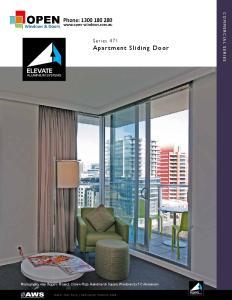 Series 471 Apartment Sliding Door