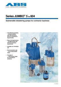 Series JUMBO 5 to 604