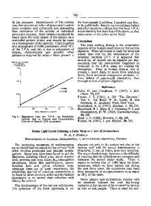 Serum Lipid Levels following a Fatty Meal as a Test of Steatorrhoea W. A. F. PENFOLD