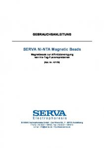 SERVA Ni-NTA Magnetic Beads