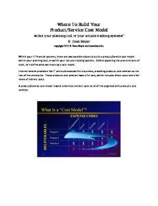 Service Cost Model