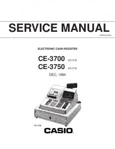 SERVICE MANUAL (without price)