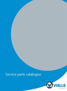 Service parts catalogue