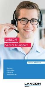Service & Support. Sicher.Vernetzt. Support Soforthilfe Garantie Partnerschaft