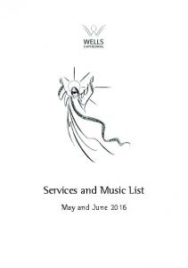 Services and Music List