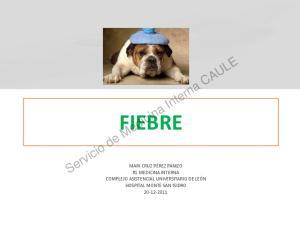 Servicio de Medicina Interna CAULE FIEBRE