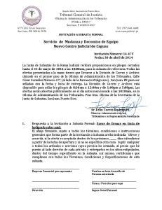 Servicio de Mudanza y Decomiso de Equipo Nuevo Centro Judicial de Caguas