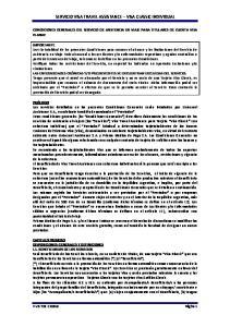 SERVICIO VISA TRAVEL ASSISTANCE VISA CLASSIC INDIVIDUAL