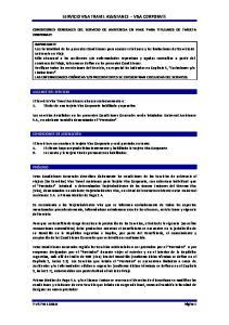 SERVICIO VISA TRAVEL ASSISTANCE VISA CORPORATE