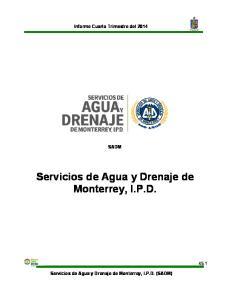 Servicios de Agua y Drenaje de Monterrey, I.P.D