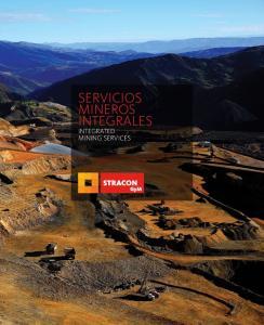 SERVICIOS MINEROS INTEGRALES INTEGRATED MINING SERVICES